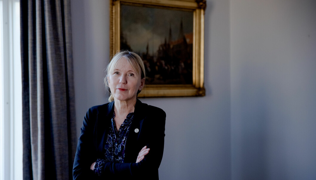 Margareth Hagen mener det er en styrke med mange søknader om å bli fremragende senter for forskning.