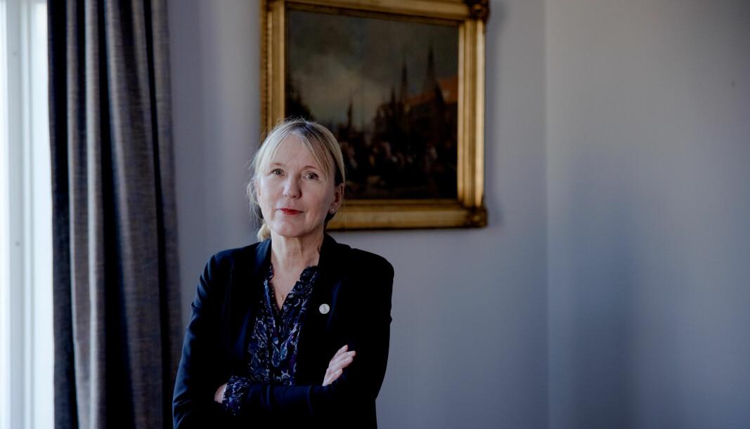 Margareth Hagen ble rektor ved Universitetet i Bergen som følge av at Dag Rune Olsen trakk seg ved årsskiftet. Nå skal hun håndtere koronakonsekvensene og Knudsen-saken i tillegg til å drive valgkamp når den tiden kommer.