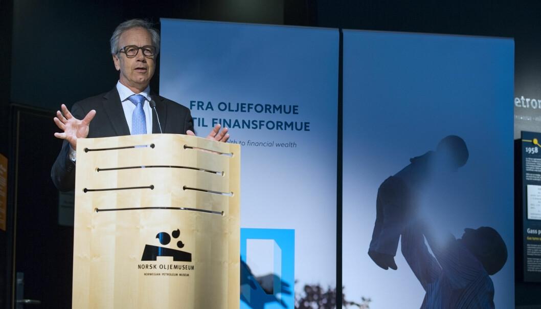 Sentralbanksjef Øystein Olsen er en av dem som har ledet flest NOU-utvalg i Norge.