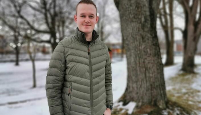 Christoffer Voldseth er førsteårs sykepleiestudent og studenttillitsvalgt ved sykepleierutdanningen ved Nord universitet, campus Levanger.
