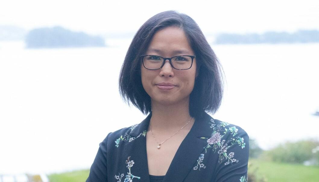 Annelise Ly mener at en del av jobben som underviser handler om å legge til rette for at studentene kan bli kjent med hverandre.