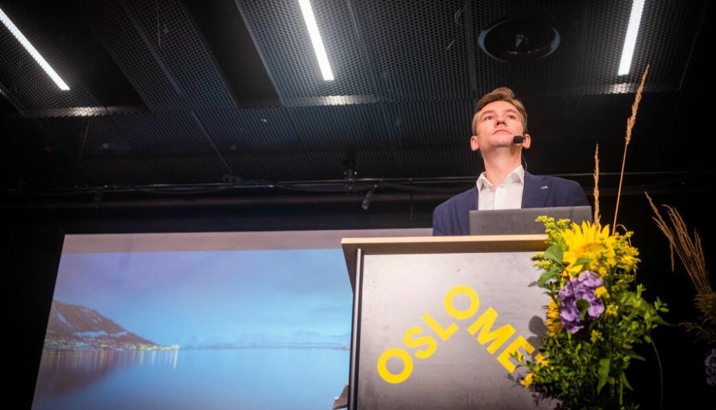 I setember i fjor presenterte Henrik Asheim Høyres forslag til nytt partiprogram for høyere utdanning. Uten å nevne desentraliserte utdanning, skriver innleggsforfatterne.