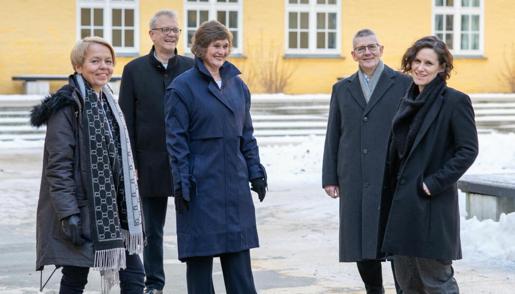 Team Samdal stiller til val ved Universitetet i Bergen våren 2021.