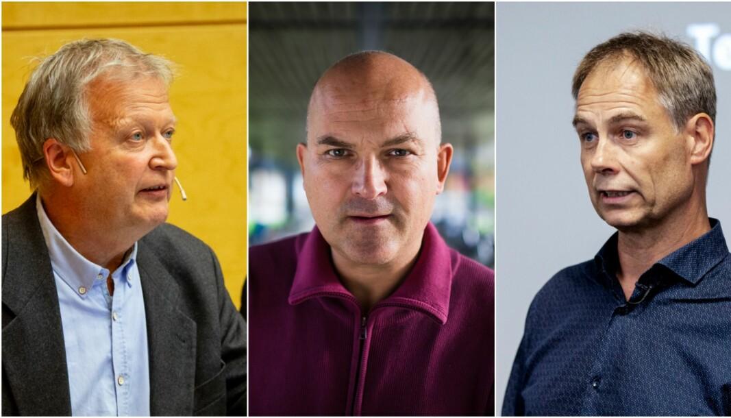 De tre retorikk- og tekstprofessorene Johan Tønnesson (UiO), Kjell Lars Berge (UiO) og Jens Elmelund Kjeldsen (UiB) har samlet inn rundt 85 underskrifter fra forskere rundt om i landet, og ber med det Universitets- og høgskolerådet om å opprette et eget fagorgan for retorikk- og tekstforskning.