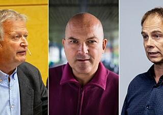 Begeret rant over for de tre professorene. Nå har de startet underskriftskampanje