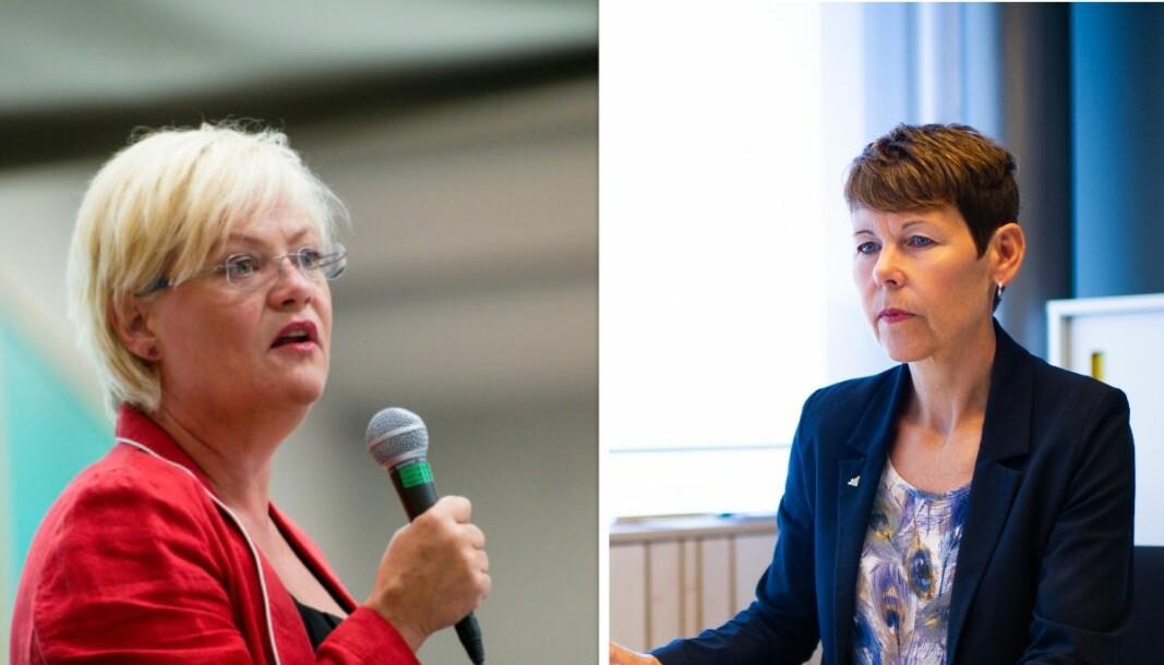 Topplederene Kristin Halvorsen i Cicero og Norunn Myklebust i NINA peker på at tap av natur er et av de største miljøprobleme verden står overfor i sitt innspill til Samarbeidskonferansen om Langtidsplanen for forskning og høyere utdanning.