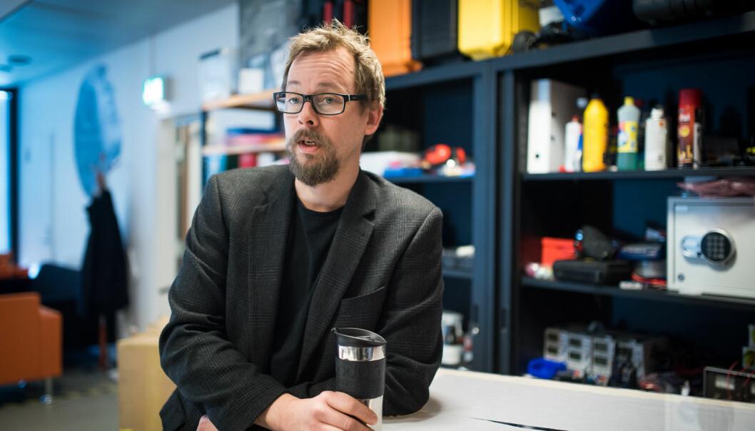 Dekan Harald Holonen er en av 13 søkere til de tre nye dekanstillingene ved Høgskolen i Østfold.
