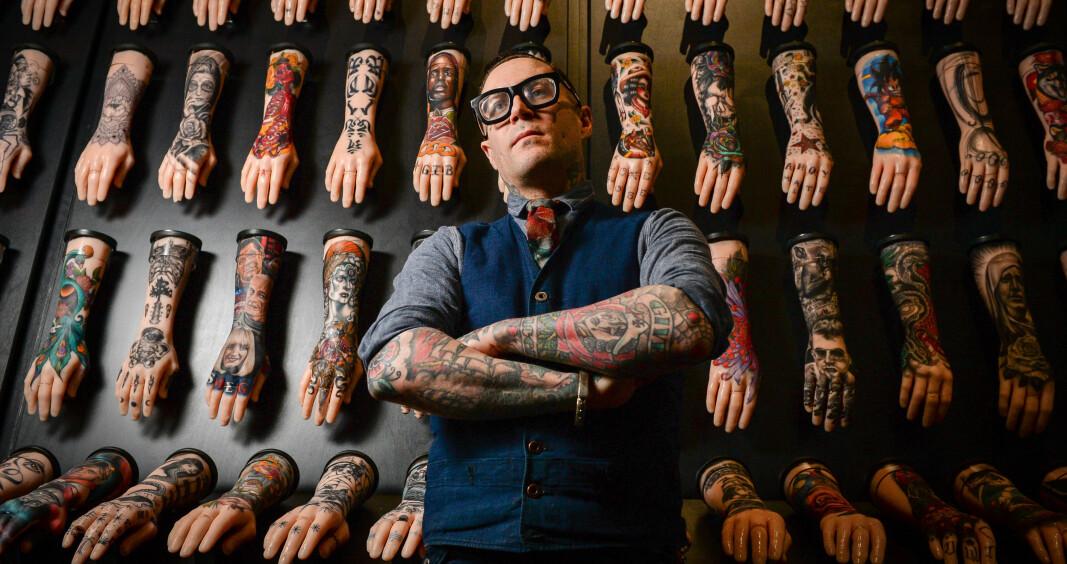 Student plagierte arbeidet hans. Og tatoveringane hans.
