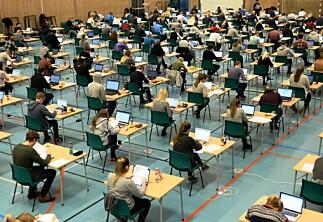 Etterlyser tilbakemeldinger fra studentene etter eksamen