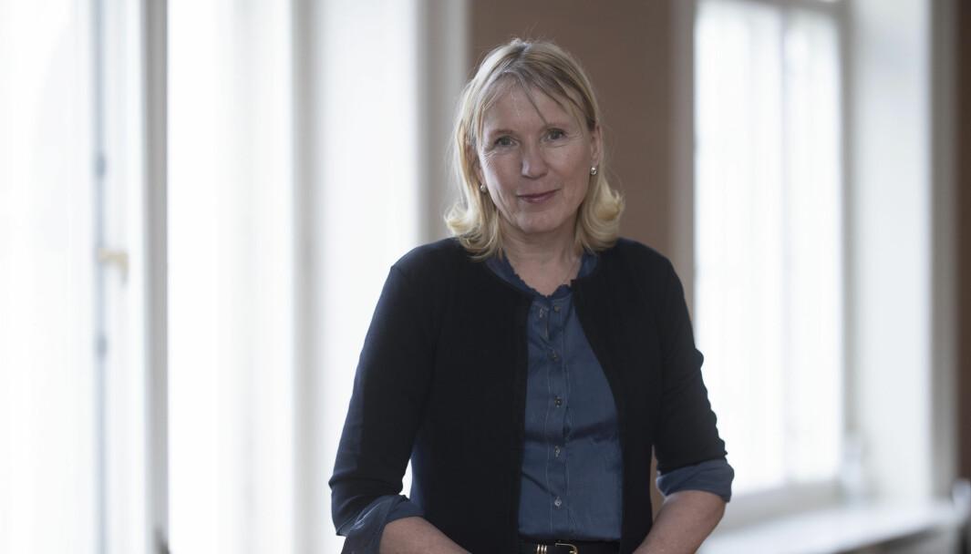 Margareth Hagen ved Universitetet i Bergen.