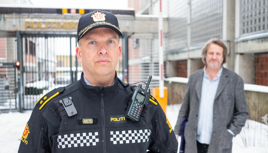 Ståle Knudsen, jobber som Politioverbetjent ved Politihøgskolen.