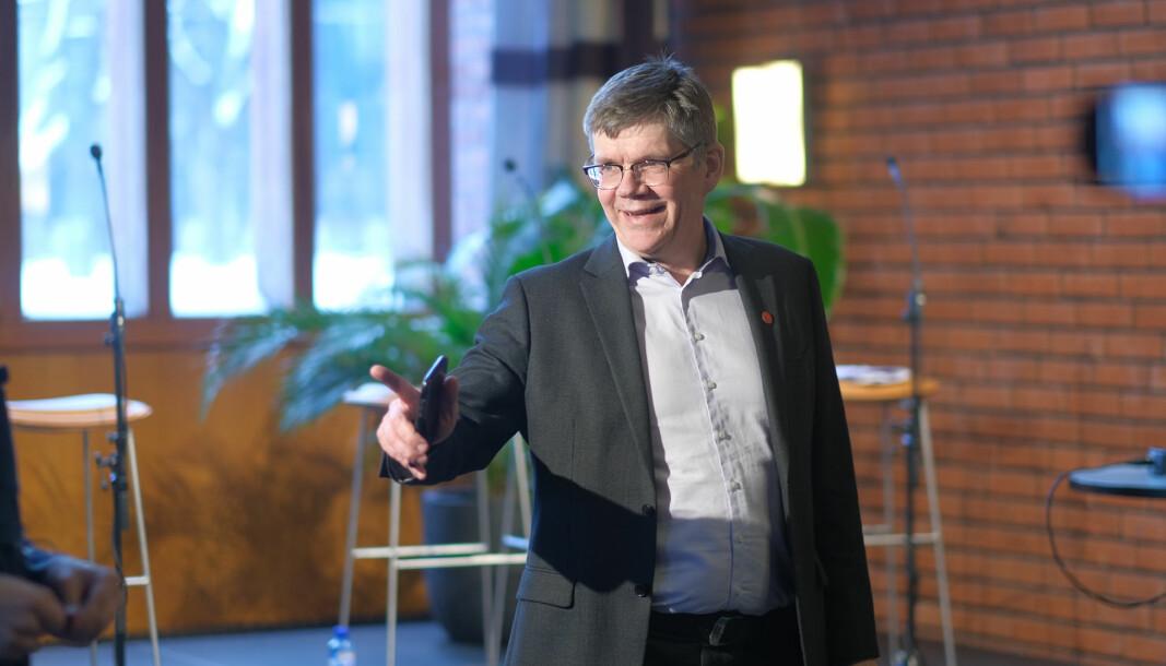 Rektor ved Universitetet i Oslo, Svein Stølen, kan glede seg over at universitetet nærmer seg topp 100 på QS World University Ranking.