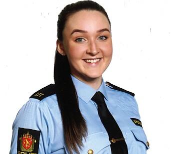 Kariann Høvde, tredje års politistudent.