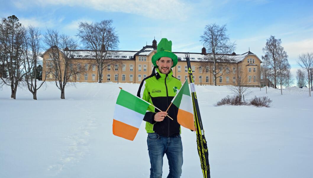 Thomas Maloney Westgård kan melde om interesse fra irsk media før han deltar i ski-VM for andre gang.