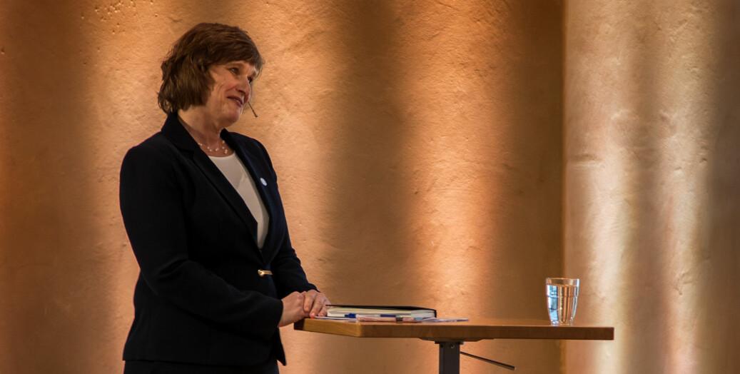 10 tilhengere av kandidat Oddrun Samdal som ny rektor ved UiB reagerer på at Forskerforbundet ved universitetet anbefaler medlemmene å stemme på hennes motkandidat Margareth Hagen i rektorvalget som starter mandag.