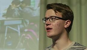 Nestleder i Liberale Studenter, Andreas Hammer Håversen.