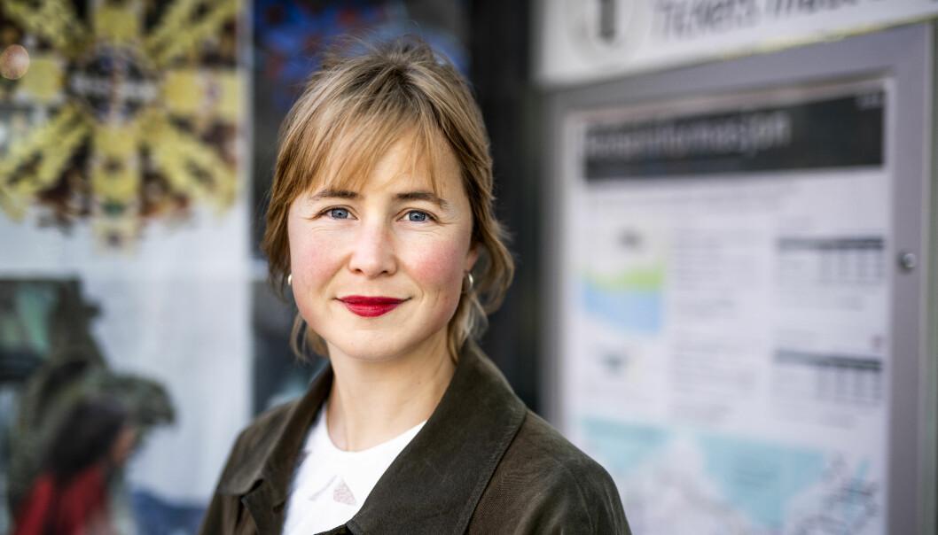 Leder Anja Bakken Riise i Framtiden i våre hender