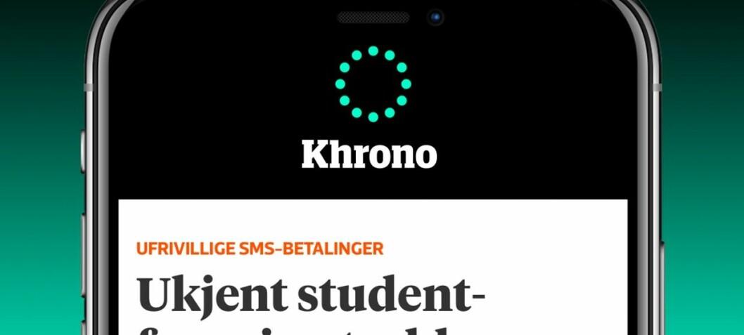 Få varsel om siste nyttLast ned Khronos nyhets-app, få varsel om de viktigste nyhetene og om det som skjer på din institusjon.