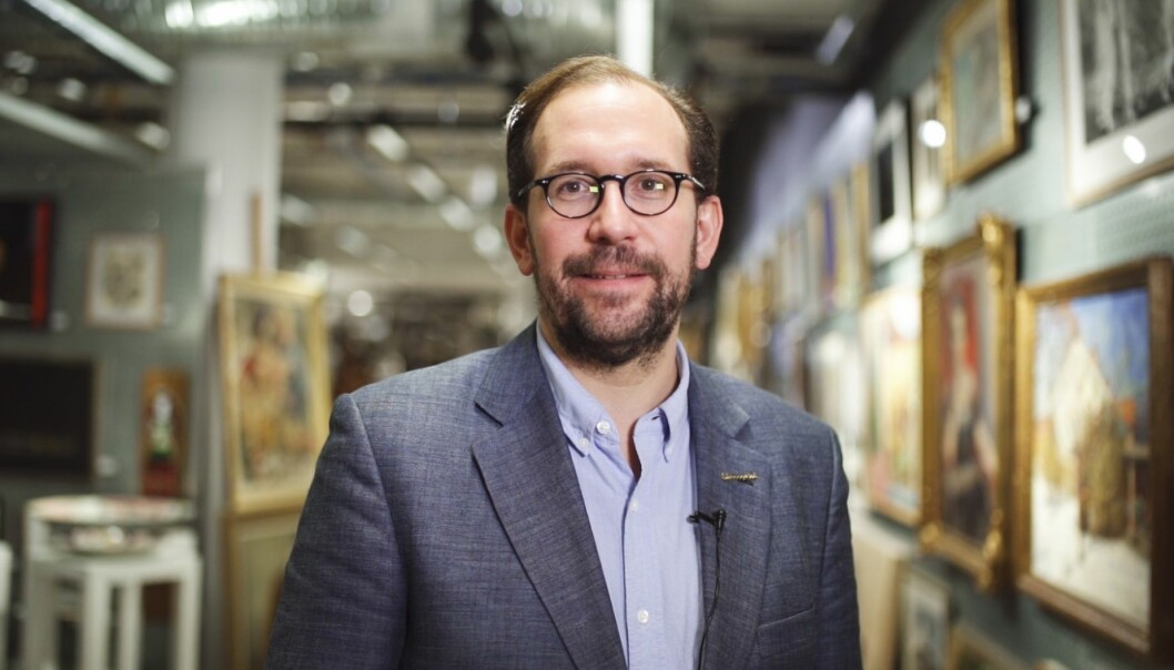 Seniorekspert Blomqvist Kunsthandel AS, Anders Elvestad.