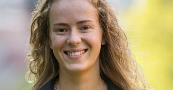 Kamp om leiarvervet: Tuva Todnem Lund vil også leia studentane