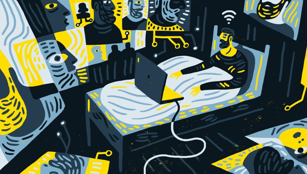 Skype, Teams, Zoom. Det trykkande synet av ditt eige tryne kan gå utover både konsentrasjon og kommunikasjon. For å unngå at vi blir zoombiar bør vi ta grep, meiner forskarane.