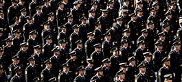Stor interesse for å bli politi
