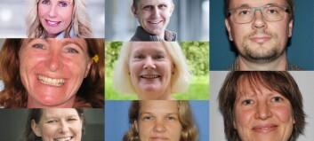 Disse åtte er utnevnt til meritterte undervisere