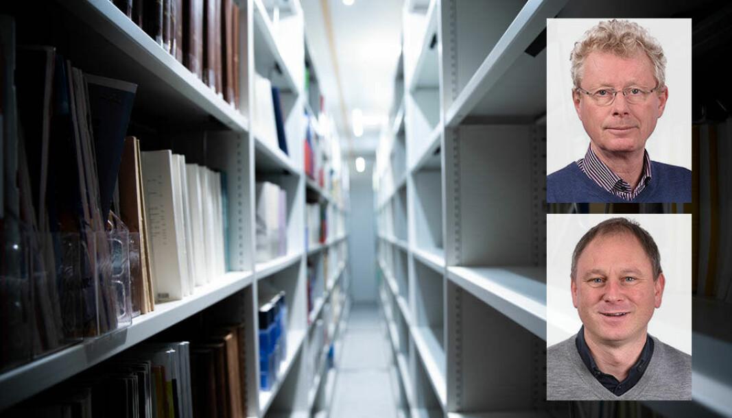 Gunnar Sivertsen og Dag W. Aksnes ved Nifu (innfelt) er kritisk bruken av rangeringslister.