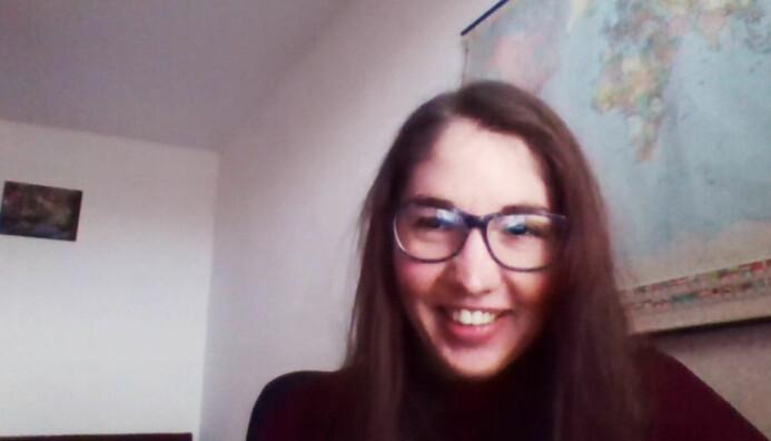 Petra Hradicka i intervju med Khrono via nett.