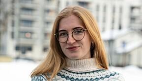 Maja Elisabeth Mikkelsen er leder av Norsk medisinstudentforening