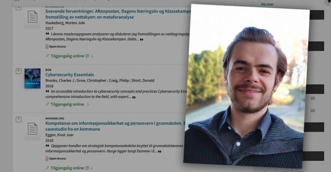 Studenten Christopher avslørte sikkerhetshull i system hele Norge bruker