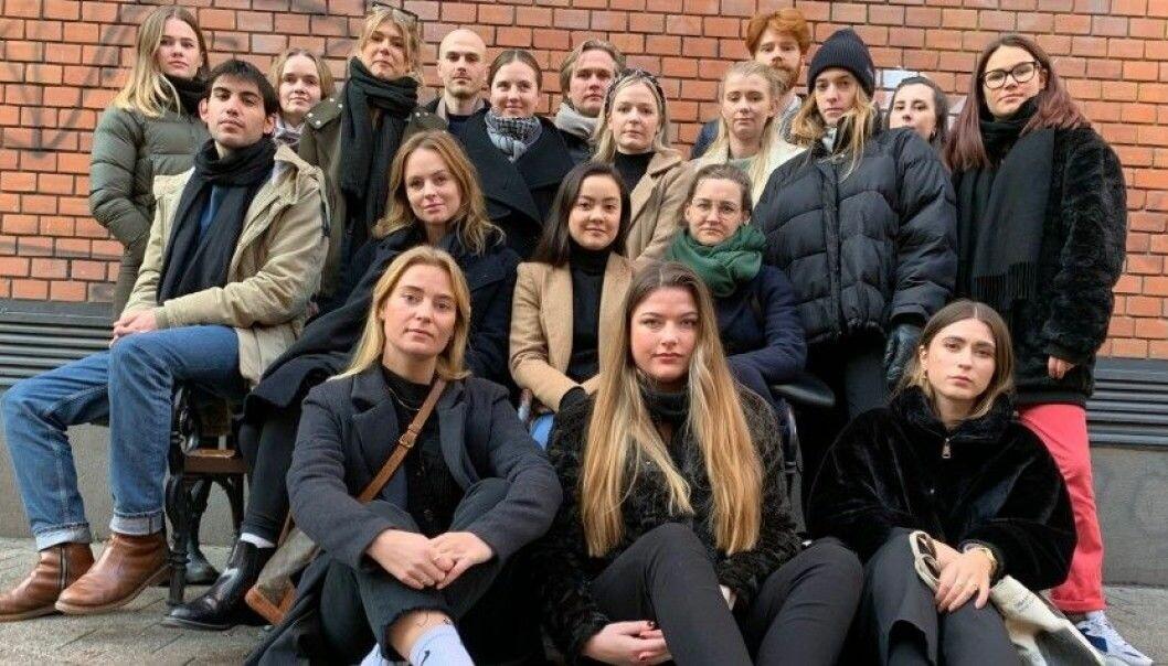 Dette er noen av de norske studentene som tok psykologi ved ELTE da Khrono besøkte Budapest høsten 2019.