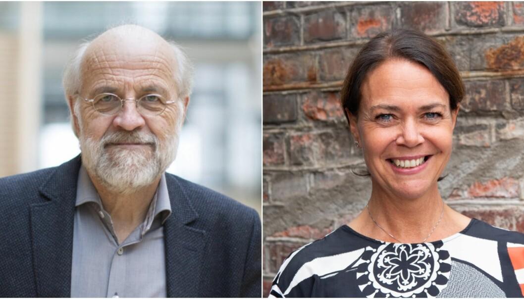 Rektor Petter Aasen og viserektor for forskning Heidi Ormstad ved Universitetet i Sørøst-Norge skriver hva de mener om fremtidens forskningsfinansieringssystem.