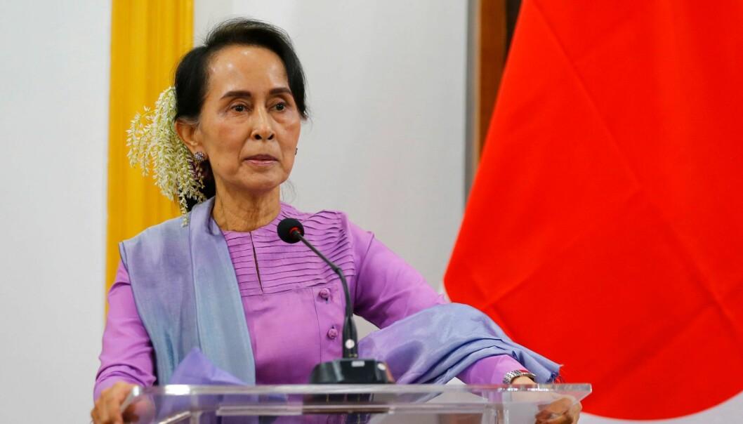 Hun vant Nobels fredspris i år 2000.