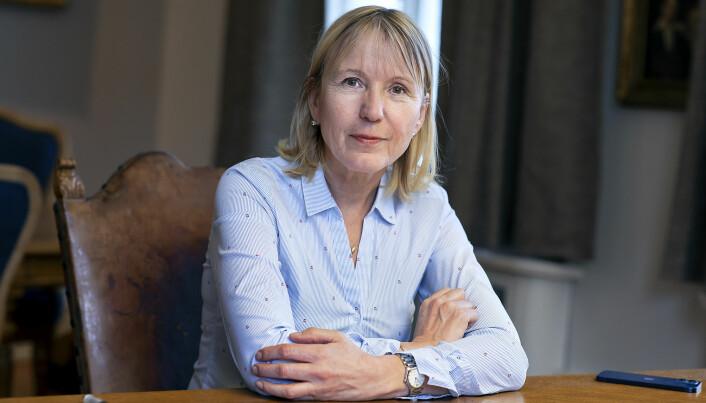 Het was belangrijk om het standpunt van UiB te presenteren, zegt UiB-president Margareth Hagen.