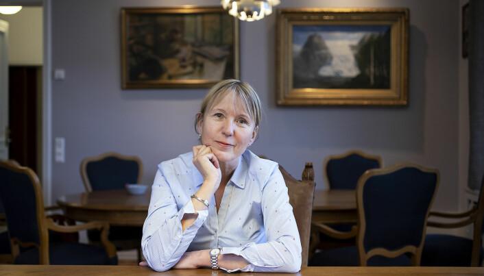 Rektor Margareth Hagen ved UiB mener det er riktig å rendyrke Nokut som et tilsynsorgan.