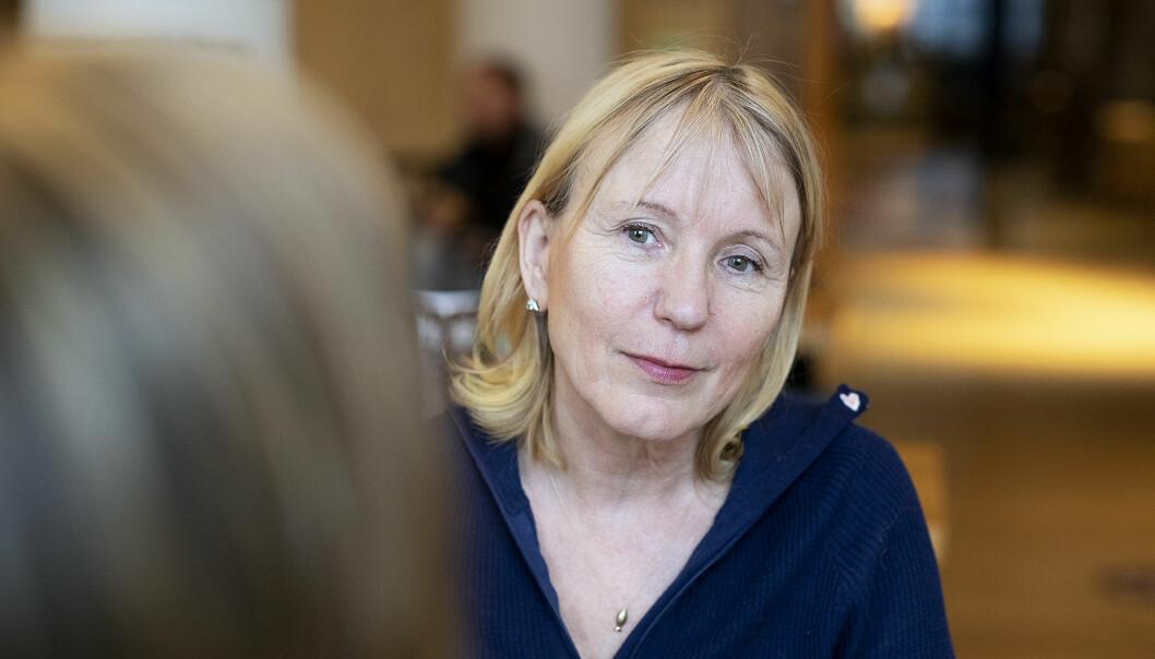 — Vi forholde oss til kommunens fagfolk og opprettholder inntil videre avstandskravet på en meter, sier rektor Margareth Hagen ved UIB