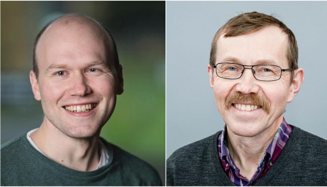 Akademisk duo, son Martin Inge og far Egil Arne Standal.