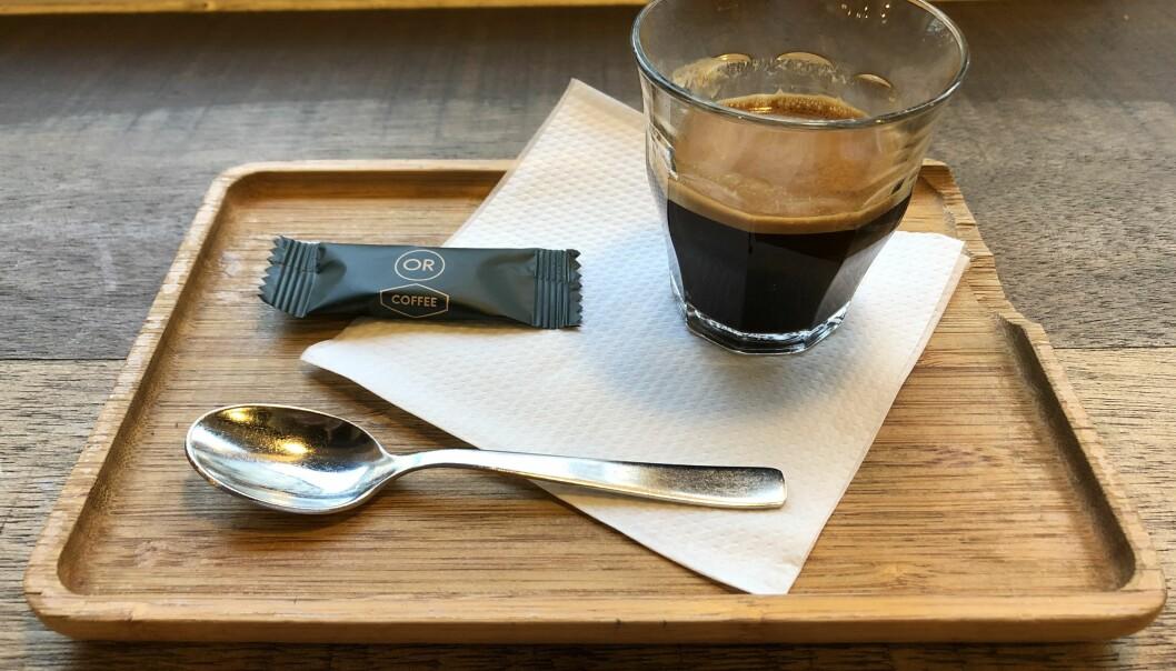Sterk og god kaffi. No truar studentsamskipnaden lengst nord med å berre servera koffeinfri kaffi - men det var, truleg heldigvis for mange studentar og tilsette, berre ein litt prematur aprilspøk.