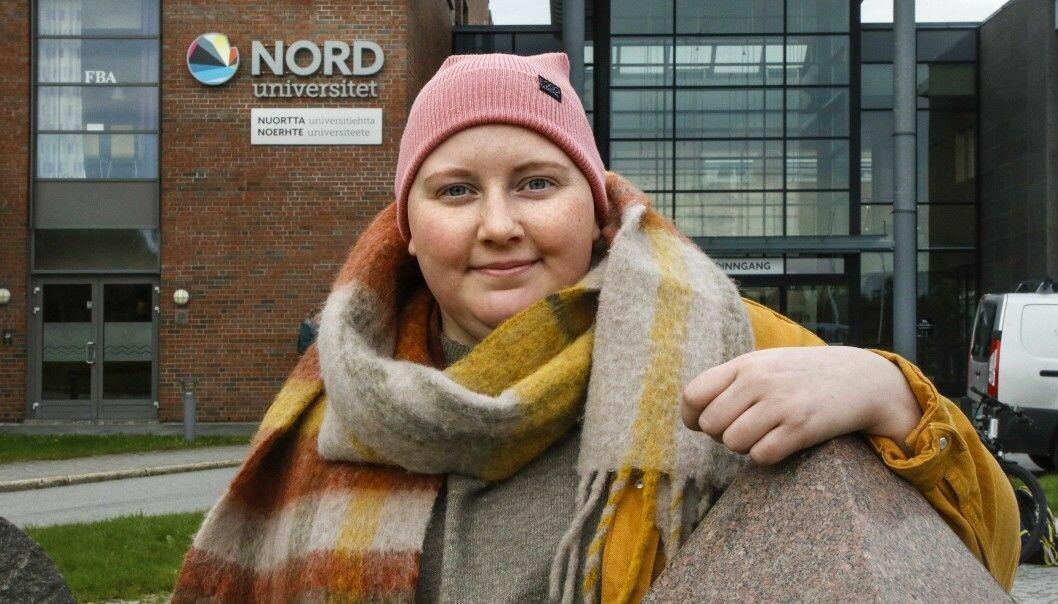 Studentleder ved Nord universitet, Emelie Johanne Johansen, beklager at hun deltok på hotellfest med flere Arbeiderparti-topper tidligere i mars.