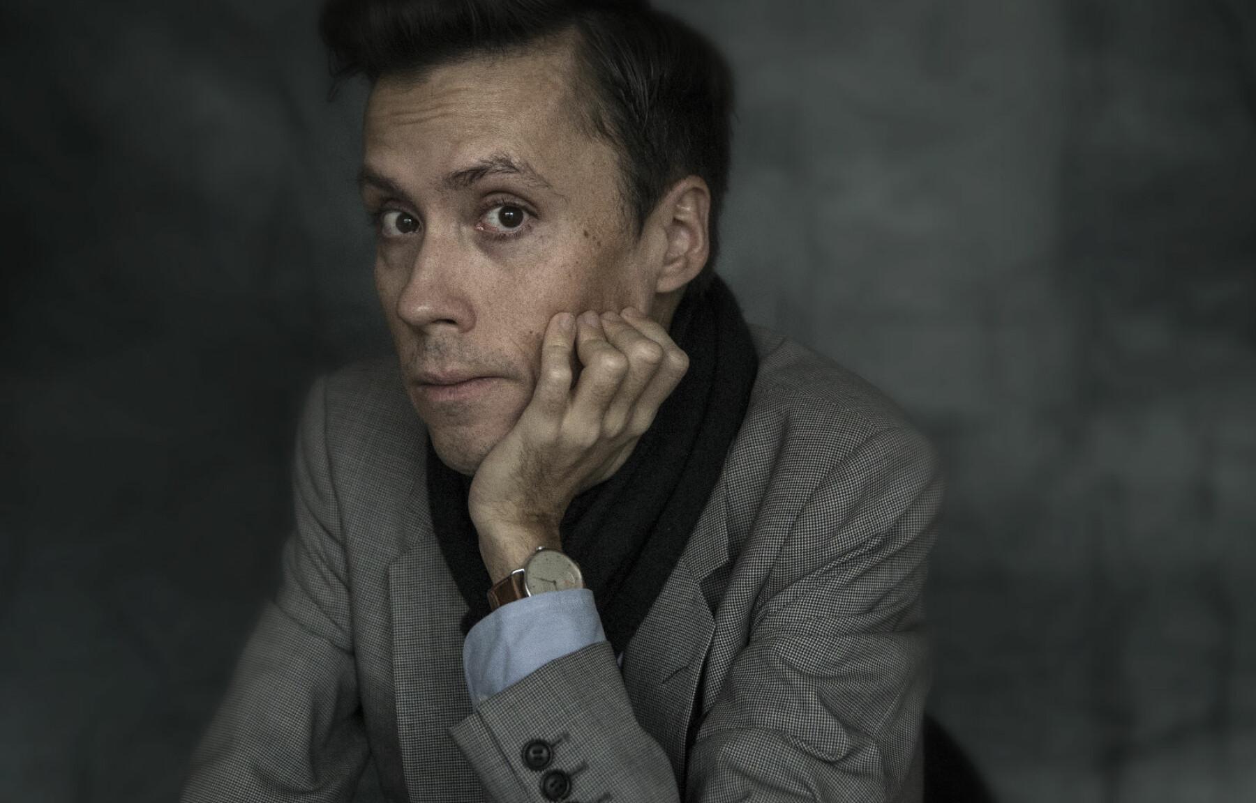 Forfatter og professor Jan Grue.