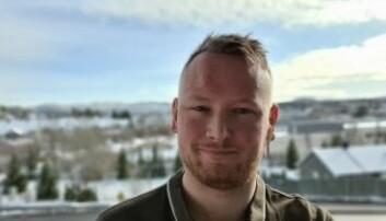 Marius Fidje Tjelta, student Høyskolen Kristiania.