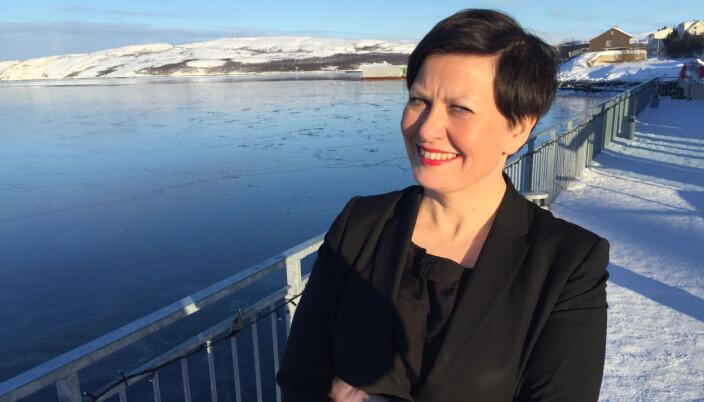 Ordfører i Tana, Helga Pedersen (Ap).