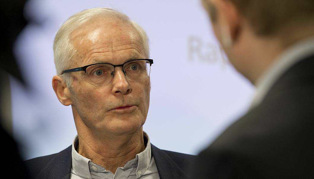 Konkurransedirektør Lars Sørgard mener det er på sin plass med mer konkurranse blant de som utdanner jurister.