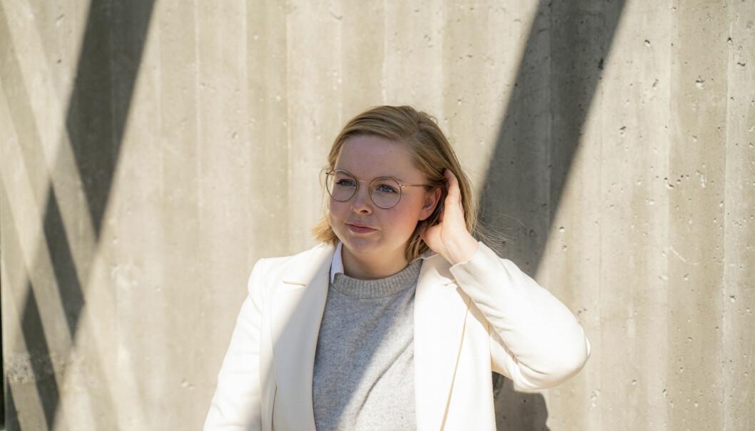 Student ved Universitetet i Oslo, Embla Imset, er blant studentene som har fått en mye bedre studiehverdag etter utbruddet av koronaviruset.