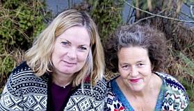 To av kronikkforfatterne Ingun Grimstad Klepp (t.h.) og Tone Skårdal Tobiasson har tidligere skrevet flere bøker sammen. Blant annet om tekstiler, mikroplast og kjemikalier. Her sees de sammen i forbindelse med utgivelsen av en bok om ull i tekstiler.