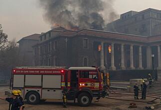 Brann ved University of Cape Town
