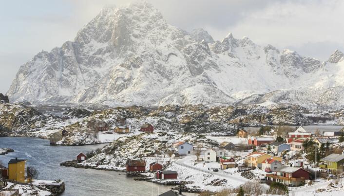 Fra Kabelvåg i Lofoten, der Nordland kunst- og filmhøgskole holder til. Foto: Kai Jensen / NTB