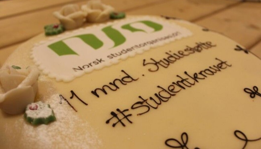 Økt studiestøtte: Vanker det ny kakefest for landets studenter etter partienes landsmøter i år, eller må de vente til etter valget i høst?