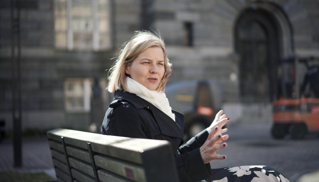 Helt klar for spennende debatter, blant annet på skolepolitikk: Venstreleder og kunnskapsminister Guri Melby.